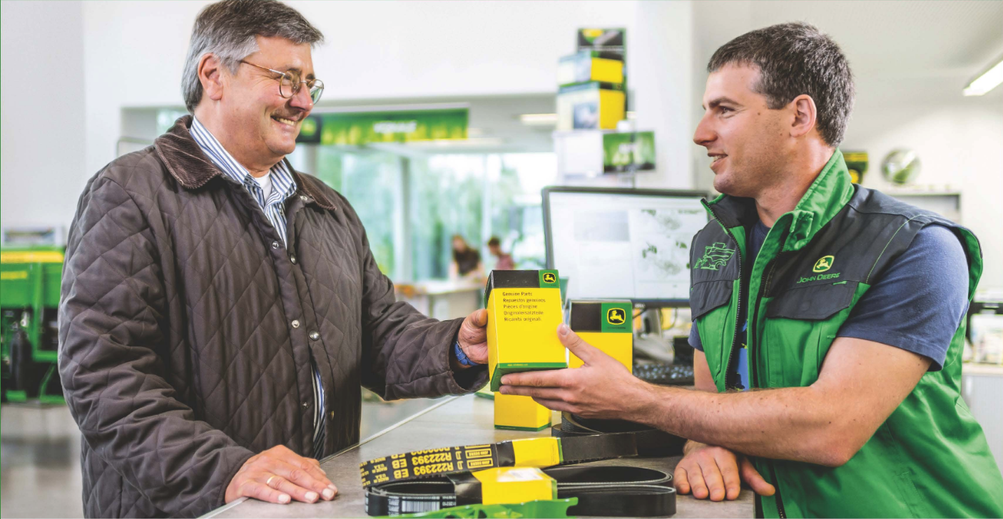 Order John Deere Parts through Western Equipment's Customer Portal