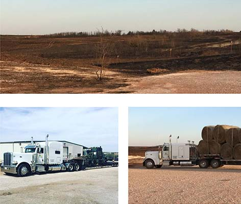 WE Helped Victims of the Dewey County Wildfires